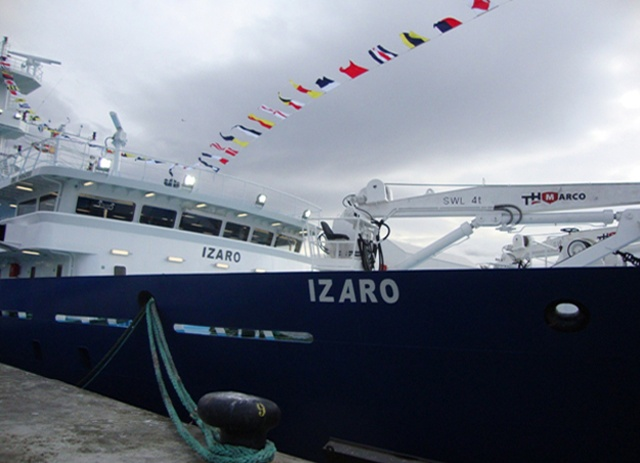 Seychelles flagged €30 million fishing vessel launched in Spain
