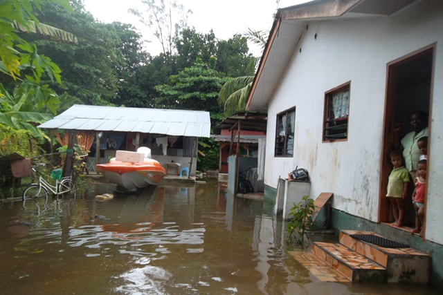 Flood emergency declared on La Digue