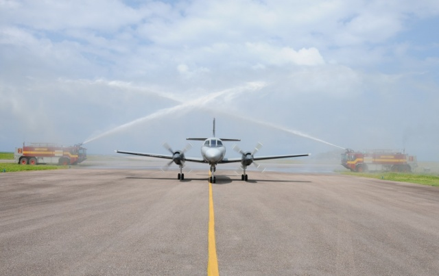EU anti-piracy surveillance plane flies 1,000th sortie from Seychelles