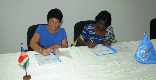 WHO renews cooperation with Seychelles