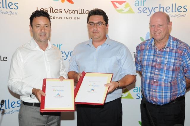 Air Seychelles veut plus de connections: ' Îles Vanilles'
