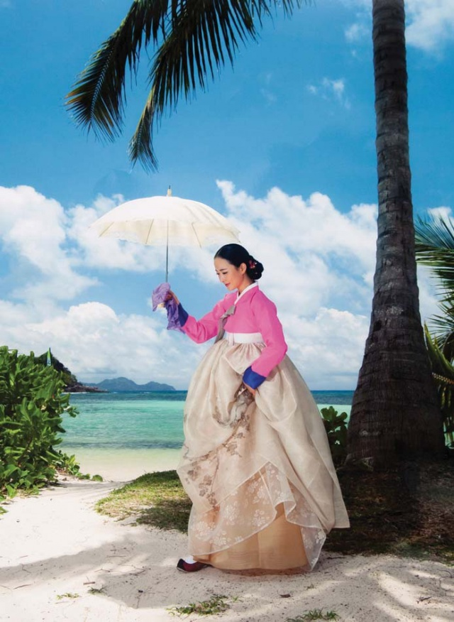 Hanbok designer to host fashion show in Seychelles