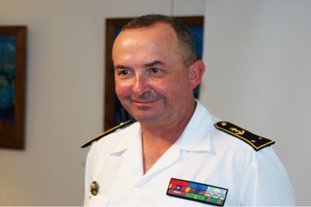 EUNAVFOR contre-amiral Herve Blejean: l'UE réfléchit à l'après Atalante.