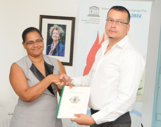 Seychelles launches constitution in Creole on UN language day