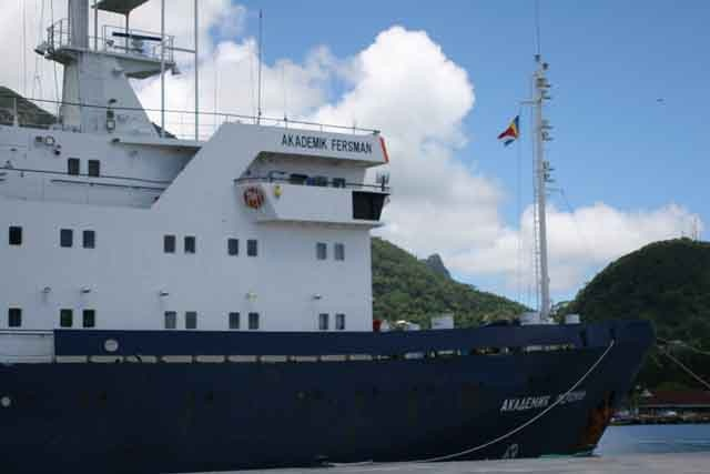 Russian seismic vessel starting 2D seismic survey today
