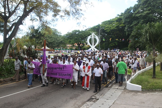 Seychelles' Christians observe Good Friday