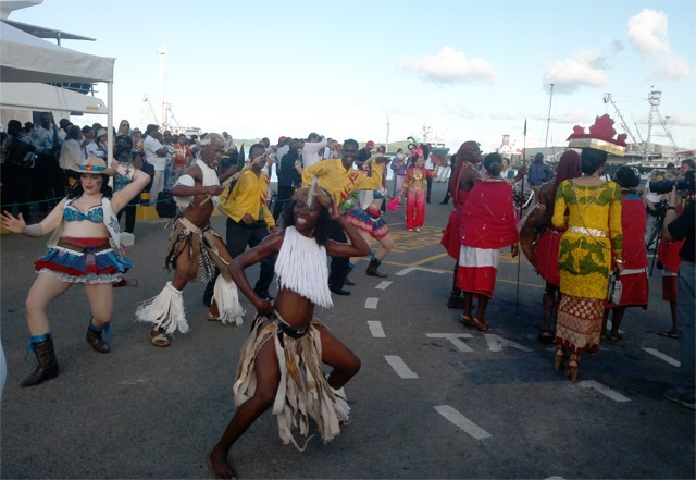 Carnival fever in Indian ocean island nation of Seychelles