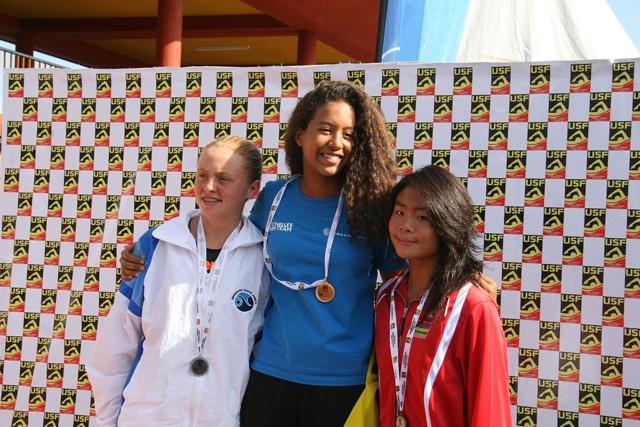 Seychellois swimmer wins 2 golds in Uganda