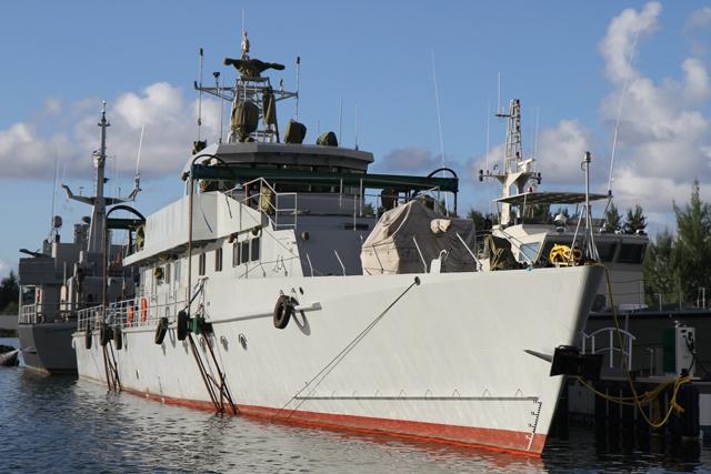 La Chine fait don d'un patrouilleur aux Seychelles