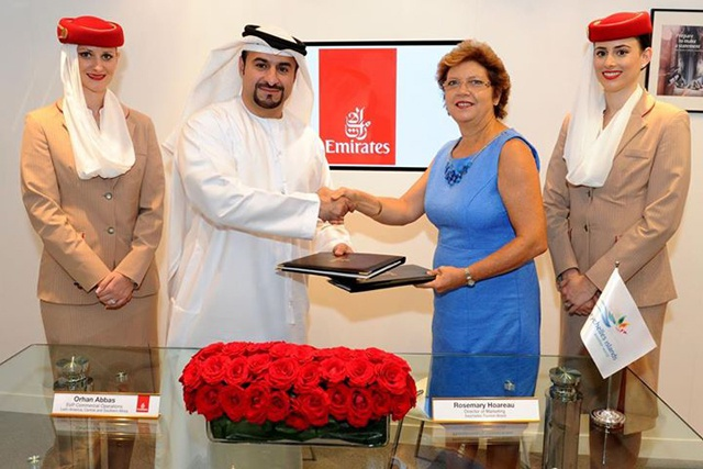 Emirates airline renews Seychelles partnership for tourism branding