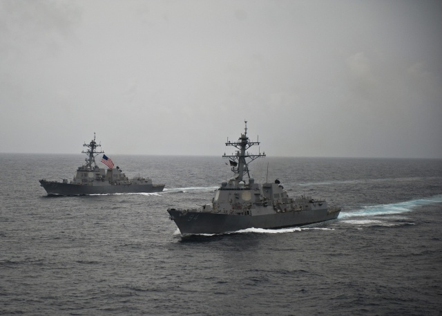 US naval ship USS Nitze makes port call to Seychelles