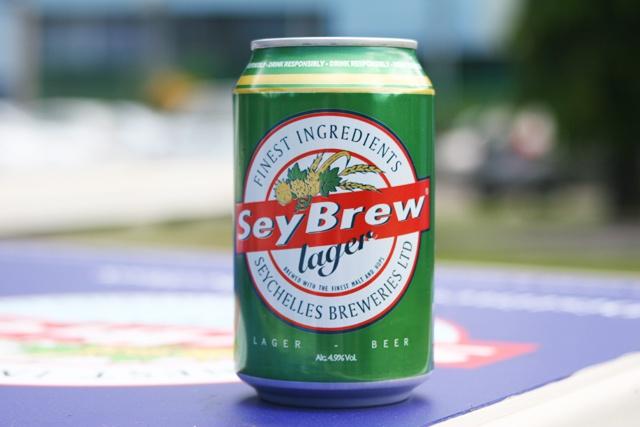 La Seybrew : nouveau format, venu de 'Guinness Brewery' en Irlande