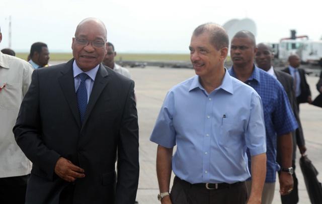 Les Seychelles félicitent le président sud-africain pour sa réélection et son fort leadership
