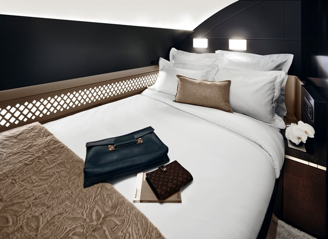 Hotel room in the sky - Etihad unveils 3-room luxury cabin