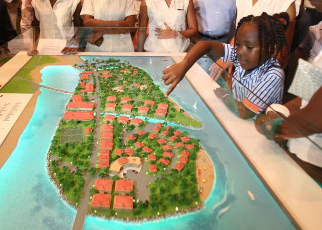Terrains à vendre à île Soleil - île artificielle des Seychelles