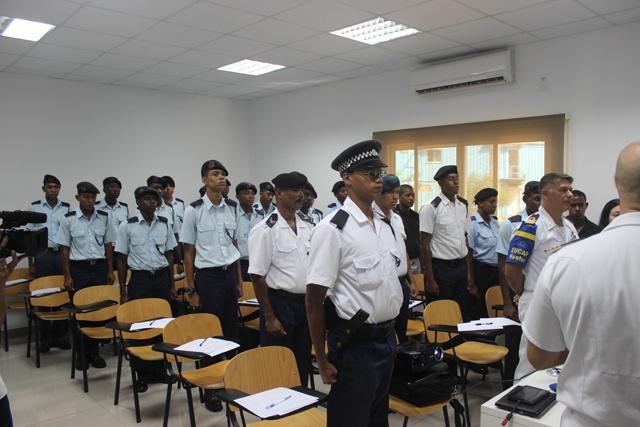 Une nouvelle unité de police maritime des Seychelles va bientôt voir le jour
