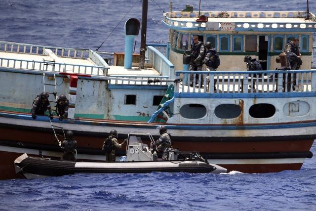 786 kg de haschich saisit en mer d'Oman
