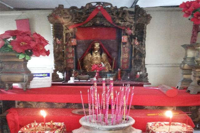 La communauté chinoise des Seychelles fait ses adieux à l'ancienne pagode
