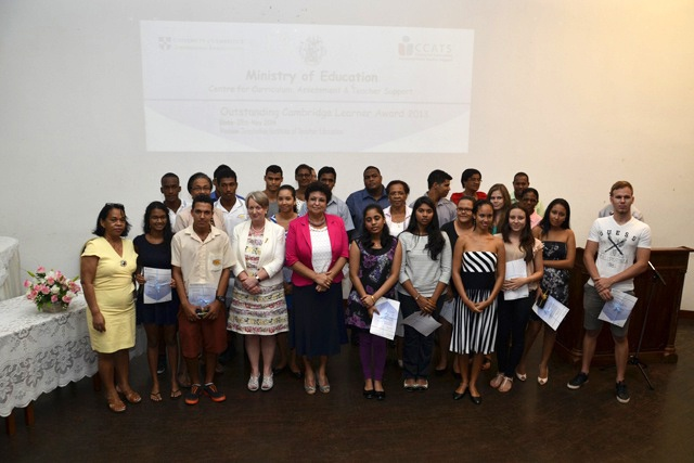 Seychelles students amongst top 10 in the world for Cambridge International Examinations