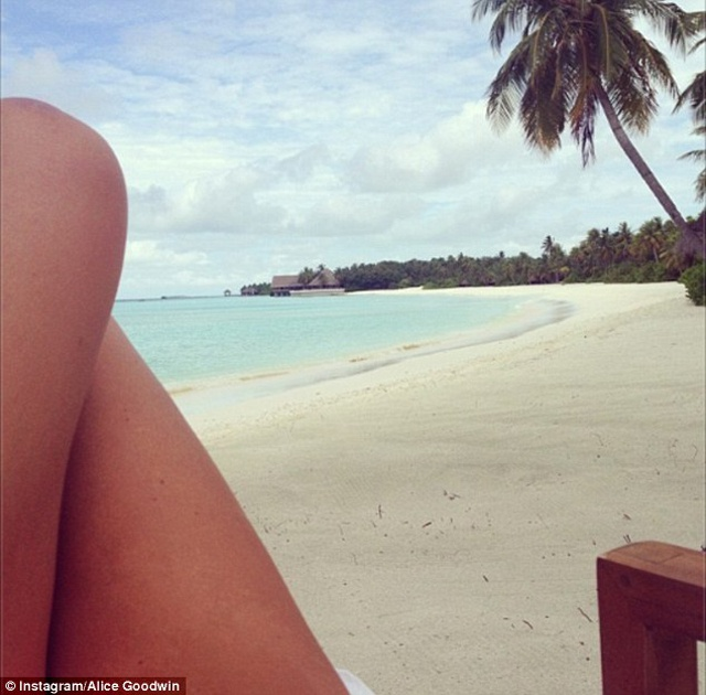 English Premier League footballer and new wife enjoy idyllic honeymoon in Seychelles