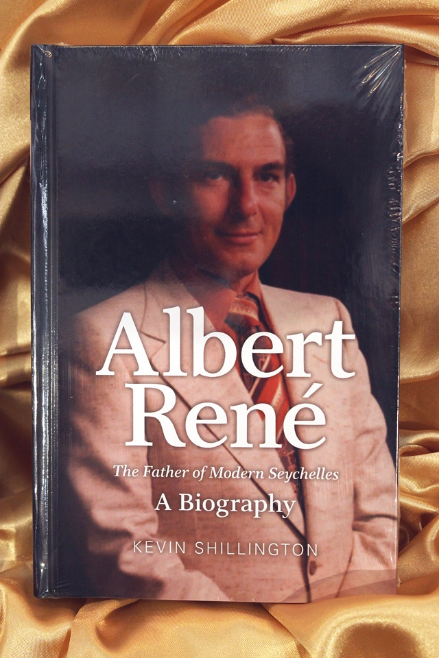 The life of France Albert Rene, captured in the words of a British historian