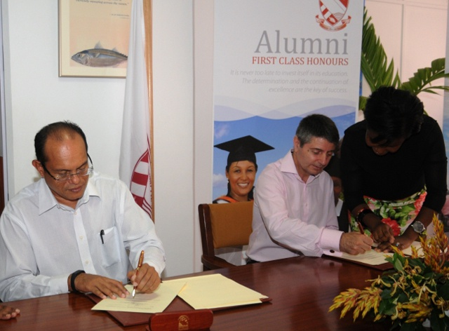 University of Seychelles seals partnership with Gibraltar for exchanges