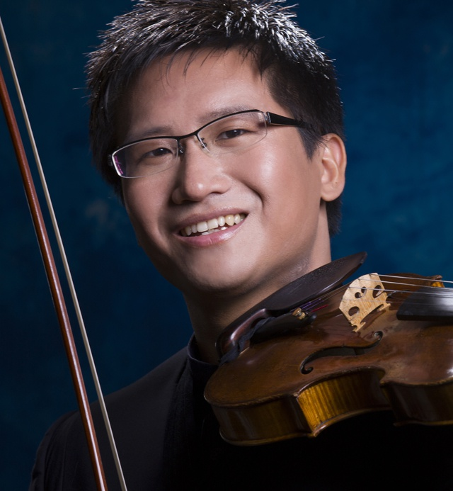 """Explore the endless beauty of the music world"" - Dan Zhu, violin virtuoso"