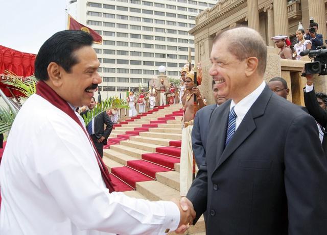 Le président du Sri Lanka Mahinda Rajapaksa aux Seychelles cette semaine pour l'inauguration du haut commissariat