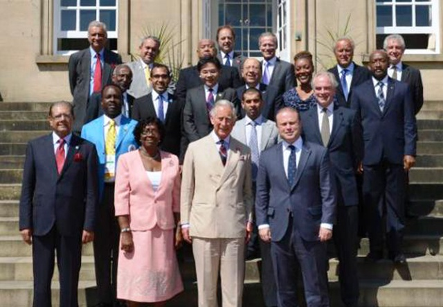 Blue Economy initiative gathers steam as Prince of Wales meets with small island states