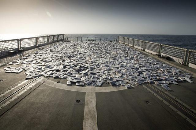 Largest ever amount of hashish seized off the East coast of Africa