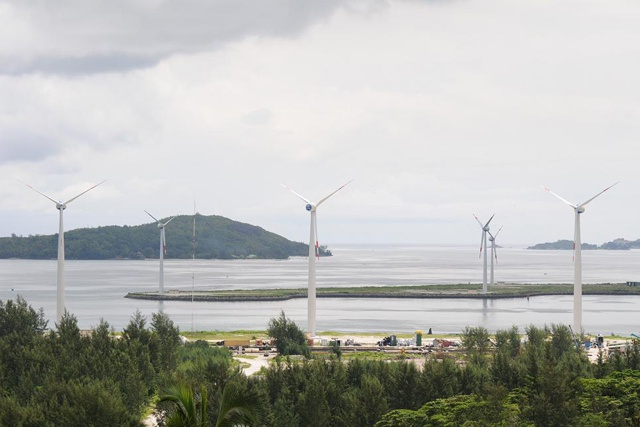 After 1 year of wind power in Seychelles islands, turbines producing desired output