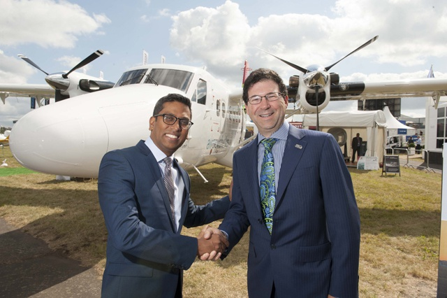 17, 000 km flight from Canada to Indian Ocean islands - Air Seychelles takes delivery of two new Twin Otters