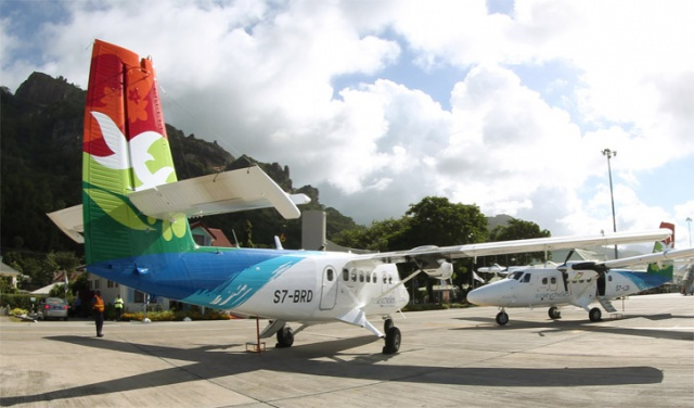 Air Seychelles brand new Twin Otters start island hopping