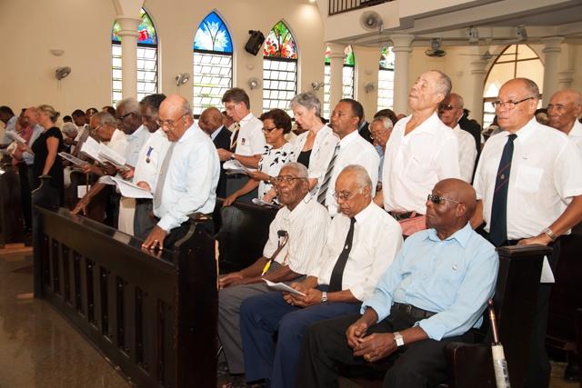 Les Seychelles commémorent les 100 ans de la Première Guerre mondiale en mémoire de ses fils  tombés aux combats