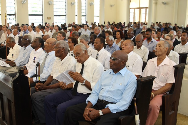 Seychelles commemorates 100 years since the First World War in memory of Seychellois war victims