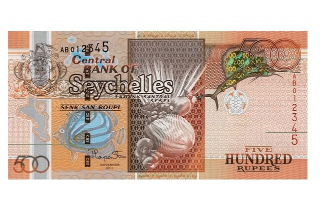 Seychelles Central Bank and police - counterfeit 500 rupee notes in circulation is on the increase