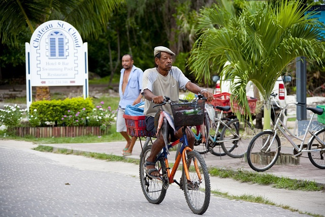 La Digue, the tropical Seychelles island of bicyles is to get road signs for the first time