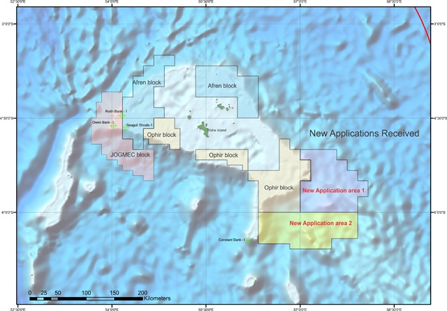 Oil exploration in Seychelles waters attract more interest - PetroSeychelles receives two new applications
