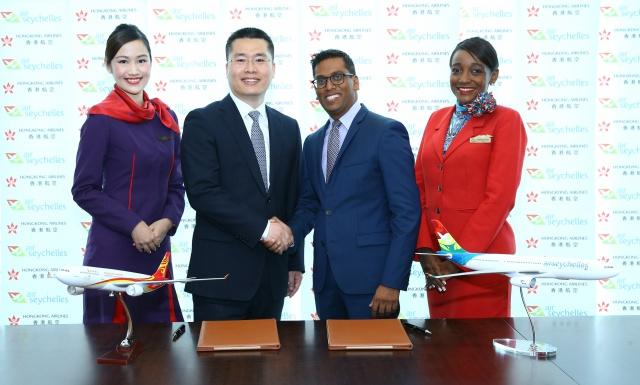 Air Seychelles signe un accord de partage de code avec « Hong Kong Airlines »