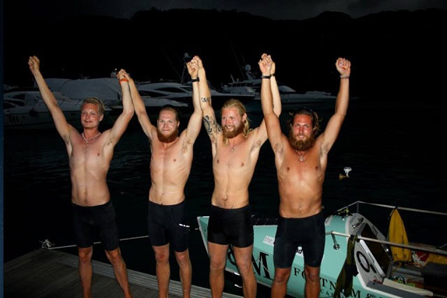 A fast row to Eden – four-man rowing crew lands in Seychelles after 73 days at sea