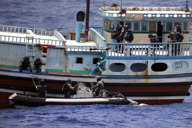 Ending impunity on the high seas - UNODC exploring options to prosecute drug traffickers