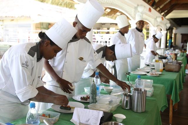 L'école hôtelière de Namur prête à recevoir les étudiants des Seychelles