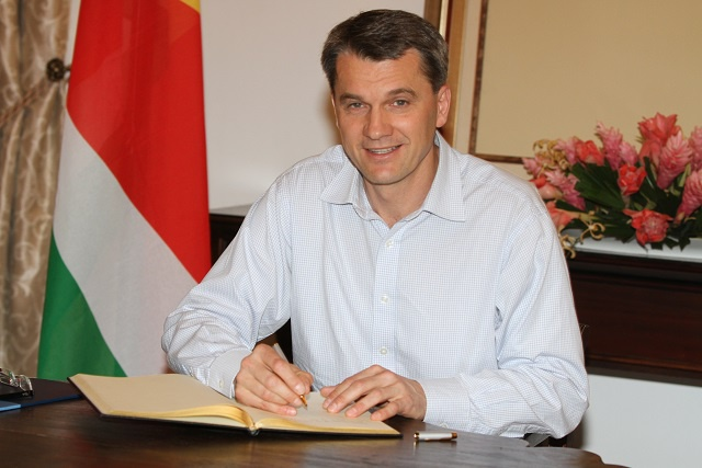 New Czech republic ambassador says excellent opportunities exist for economic cooperation with Seychelles