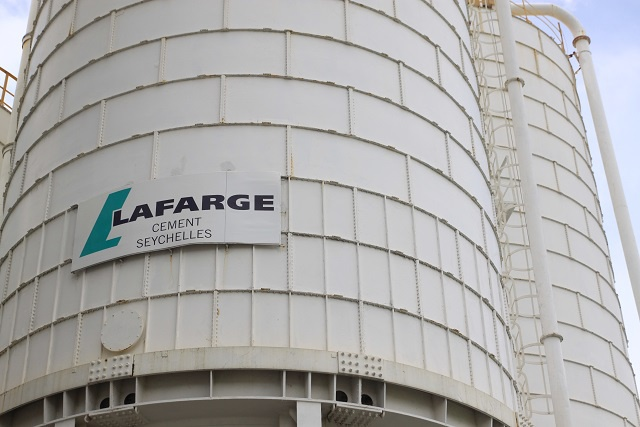 French cement company 'Lafarge' doubling storage capacity in Seychelles