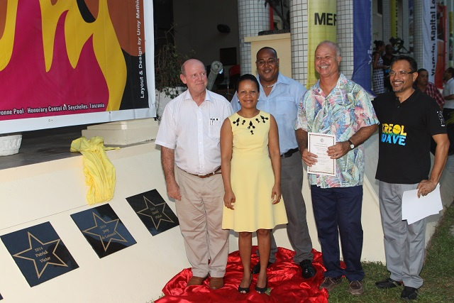 4 nouvelles étoiles porteuses de la culture des Seychelles immortalisées sur le Mur de la Renommée