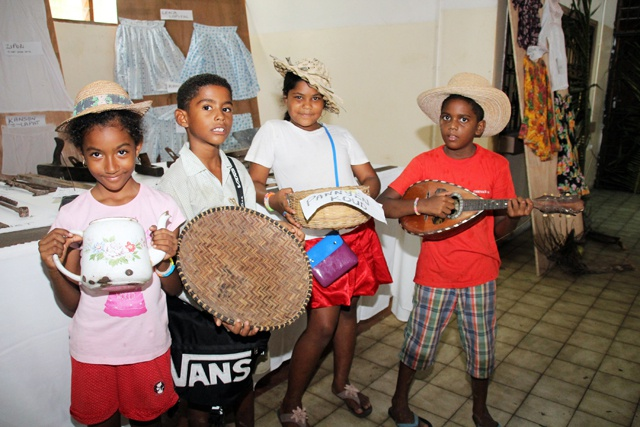 Reviving the past - Praslin brings out treasured artefacts for the 2014 Festival Kreol