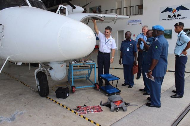 Tanzanian and Seychelles' militaries share notes on air surveillance capabilities