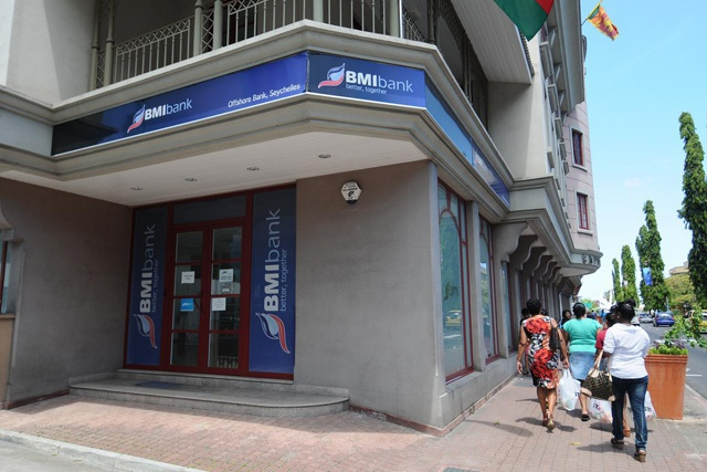 Seychelles Central Bank takes control of beleaguered BMIO bank