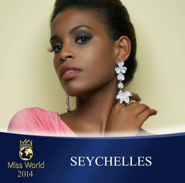 Who is the most beautiful of them all? Seychelles islands contestant gets ready for Miss World 2014