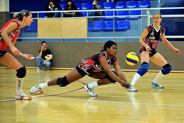Seychelles volleyball player returns from French club – Marielle Bonne joins Arsu
